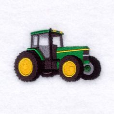 Starbird Inc Embroidery Design: Tractor 1.72 inches H x 2.85 inches W
