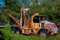 Mack AC Antique Trucks, Vintage Trucks, Antique Cars, Cool Trucks, Big Trucks, Cool Cars, Weird Cars, Tow Truck, Pickup Trucks