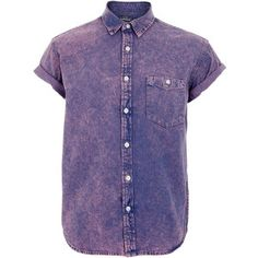 purple denim shirt - Google Search