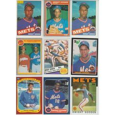 HUGE 70 different DOC GOODEN cards lot 4 RC 1985 - 1994 all Mets premiums mini Listing in the 1980-1989,Sets,MLB,Baseball,Sports Cards,Sport Memorabilia & Cards Category on eBid United States | 148510111