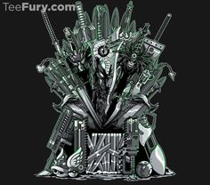 """Throne of Games"" by GillesBone is available. Get yours here: http://www.teefury.com/throne-of-games/?utm_source=pinterest&utm_medium=referral&utm_content=throneofgames&utm_campaign=gamingcollection?&c3ch=Social&c3nid=Pinterest"