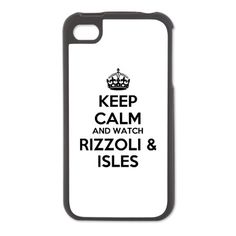 Keep Calm Rizzoli Isles iPhone 4/4S Switch Case $24.50