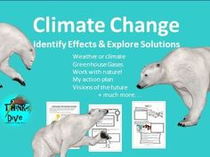 Ready to tackle one of the most debated and difficult situations that face the earth – climate change? There are lots of things to explore when thinking about climate change. This project based learning unit focuses on identifying effects and explorin. Greenhouse Effect, Greenhouse Gases, Teaching Materials, Teaching Resources, Gas Work, Weather And Climate, About Climate Change, Project Based Learning, Tes