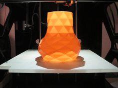 Printing Twisted vase