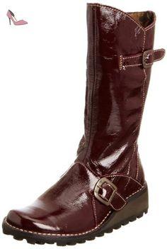 Fly London Mes, Bottes femme - Violet vernis, 36 EU - Chaussures fly london (*Partner-Link)