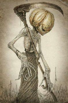 {Scary pumpkin man}  #halloween #jackolantern