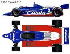 Technical Illustration, Car Illustration, Grand Prix, Sport Cars, Race Cars, Formula 1 Car, Car Drawings, Indy Cars, Plastic Model Kits