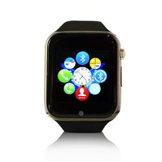 Zibo K9 Watch Bluetooth 3.0 Smart Watch Sport Watch Smart Electronics with Camera Touch Screen For IOS Apple Iphone 4/4s/5/5c/5s /6/6 Plus Android Samsung S2/S3/S4/S5/Note 2/Note 3 HTC - Black -- See this great product. (This is an affiliate link and I receive a commission for the sales)