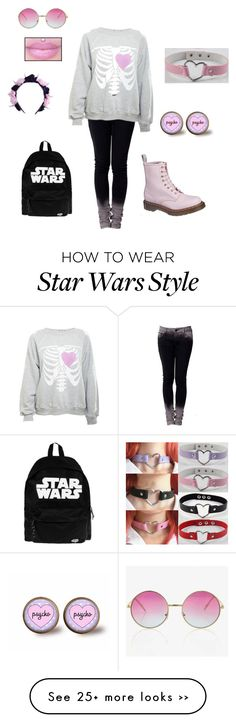 """Pastel Goth #4"" by thealmightyoverteen on Polyvore"