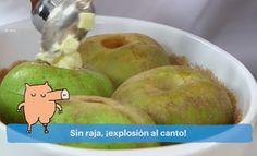 El truco para que las manzanas no estallen dentro del horno
