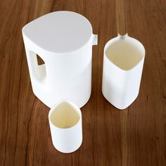 hundreds tens units plastic vessels (pitcher for water only?)