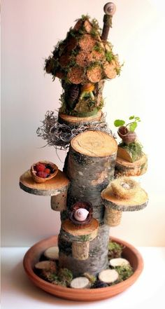how to: cork fairy house