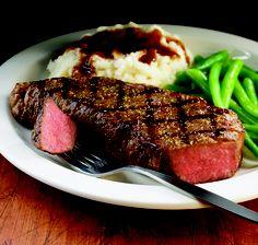 Hard Rock Cafe New York Strip Steak. Holy Moly. #hardrock #steak