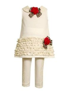 Bonnie Jean Baby Girls Knit Lace Flower Fall « Clothing Impulse