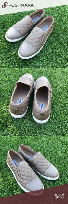 🌟Steve Madden ZAANDAR Slip On Tan sneakers🌟 ✨size women's 9 ✨I'm great condition no flaws ✨super cute and comfortable  ✨no trades Steve Madden Shoes Sneakers