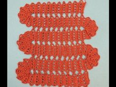 Bruges Lace variation in Crochet Crochet Symbols, Crochet Stitches Patterns, Crochet Chart, Crochet Lace, Stitch Patterns, Bruges Lace, Crochet Videos, Crochet Squares, Learn To Crochet