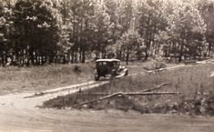 Bonnie and Clyde Ambush Site | just a short time after the ambush occurred. A turn off of Highway 154 ...