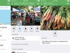 Foodlander app finds fresh food at farmers markets from your phone