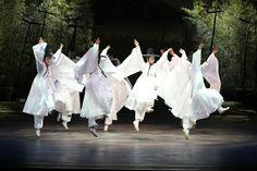 Traditional Korean music and dance performances at the Pungnyu Sarangbang Recital Hall.