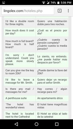 Spanish Words For Beginners, Spanish Vocabulary, Study, Quotes, English Course, Studio, Studying, Research
