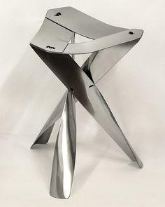 Sheet Metal Stool, el taburete metálico de Chao Chen