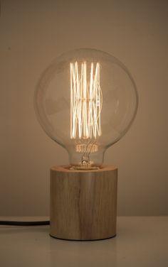 Kupla wooden Scandinavian table lamp $79.90 on www.valodesign.com.au