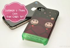 Get Uncommon makes it easy to customize your own iPhone case with any piece of art or picture.