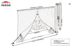 The mechanism of opening of the Wagner curtain with the cable of operation under the stage. Shadow Theatre, Toy Theatre, Theatre Stage, Theatrical Scenery, Stage Curtains, Stage Set Design, Sound Stage, Marionette, Oliver Twist