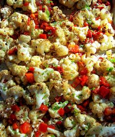 PROUD ITALIAN COOK: Great idea for side dish, Cauliflower & red pepper