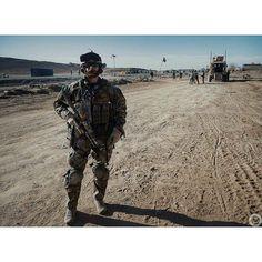Commander of JWK Special Forces, Lieutenant Colonel Michał Strzelecki in Afghanistan.