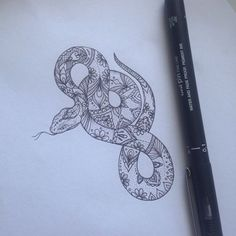 Pattern Snake Tattoo by Medusa Lou Tattoo Artist - medusaloux@outlook.com