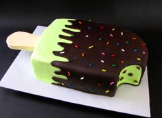 This would be my pick for a cake for my birthday. Now to find someone other than myself to make it.