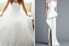 Existen diferentes tipos de blancos para el vestido de novia. Este es un ejemplo de vestido de novia blanco #bodas #elblogdemaríajosé #vestidonovia