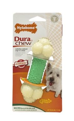 Nylabone Double Action Combo Bone Chew Toy, Regular