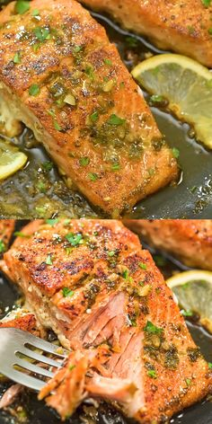 This Cajun Salmon recipe is an ultra-easy and flavorful dinner to make during yo.This Cajun Salmon recipe is an ultra-easy and flavorful dinner to make during your busy weeknights. It's ready in less than 30 minutes. Visit Cooktoria for detai Salmon Dishes, Fish Dishes, Seafood Dishes, Cajun Dishes, Seafood Platter, Seafood Pasta, Cajun Recipes, Chicken Recipes, Cooking Recipes