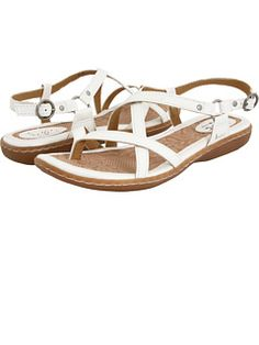 925d776eb221 Varina Women s Sandals Bianco PU   6 B - Medium