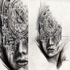 Tattoo Artwork by Tony Mancia at Mancia Tattoos in Atlanta, GA
