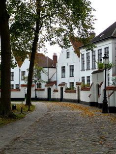 UNESCO World Heritage Site. Beguinage,Bruges, BELGIUM by fede_gen88