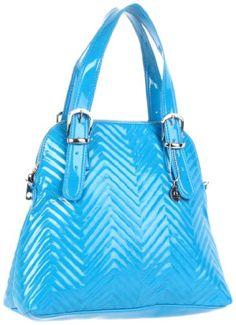 Big Buddha Katy Vegan Patent Leather Powder Blue Tote Bag on Sale, Off Big Buddha Bags, Vegan Handbags, Blue Chevron, Blue Bags, Bag Sale, Purses And Bags, Tote Bag, Satchel Bag, Juice Cup