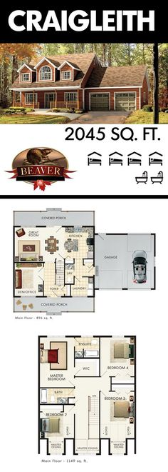 69 ideas kitchen design layout island house plans fireplaces for 2019 Garage Floor Plans, Kitchen Floor Plans, House Floor Plans, House Plans Cape Cod, Floor Plans 2 Story, Home Office Layouts, Bedroom Layouts, House Layouts, Dream House Plans