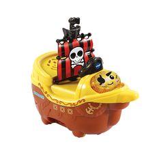 Vtech 80 509704 Tut Baby Badewelt Piratenschiff Spricht Themenbezogene Satze Singt Und Macht Lustige Gerauschedurch Bewegung Der Rader Werden Melodien Und Ger