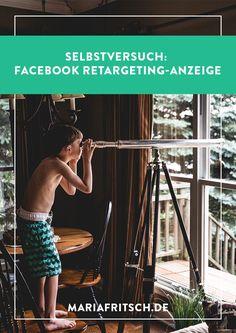 Selbstversuch: Facebook Retargeting-Anzeige