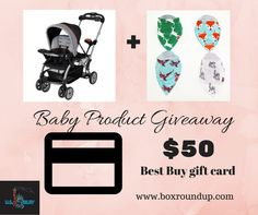 Enter the Baby Product Giveaway. Ends 1/26