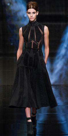 Runway Looks We Love: Donna Karan - Donna Karan from #InStyle