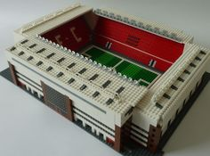 See amazing Lego versions of Anfield, Highbury, Goodison Park and more Premier League grounds - Mirror Online Lego Football, Lego Sports, Sports Stadium, Football Stadiums, Liverpool Fc Stadium, Liverpool Fc Wallpaper, Soccer Skills, Soccer Tips, Goodison Park