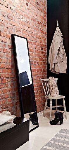 Via Perfection Makes Me Yawn | Brick Wall | Hallway | Black Mirror