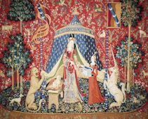 The Lady and Her Unicorn Tapestry Kit Amon Seul Desir