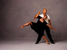 Hope Boykin and Vernard J. Gilmore in Ulysses Dove's URBAN FOLK DANCE. Photo by Andrew Eccles