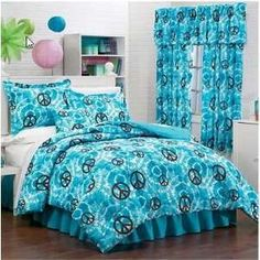 Peace Sign Bedding For S Room Decor