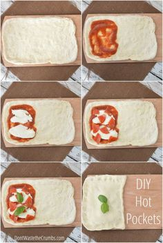 DIY Homemade Hot Pockets - perfect (and much more affordable) replacement for the store-bought version filled with 50+ ingredients! Make them healthier yourself for just 28¢ each!